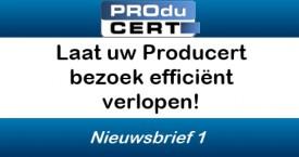 Laat uw Producert bezoek efficiënt verlopen!